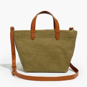 Madewell Canvas Small Zip-Top Transport Crossbody